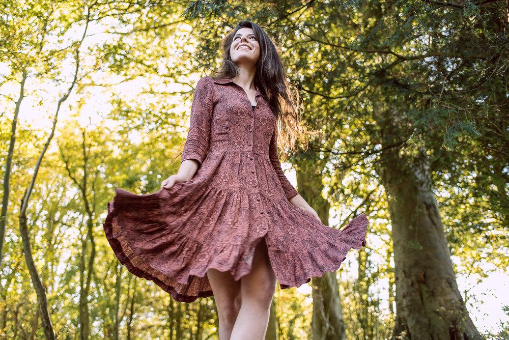 Morris x HM Collaboration Dress design