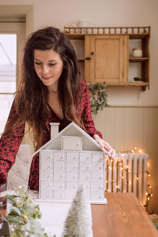 DIY Advent Calendar Christmas Village Hobbycraft