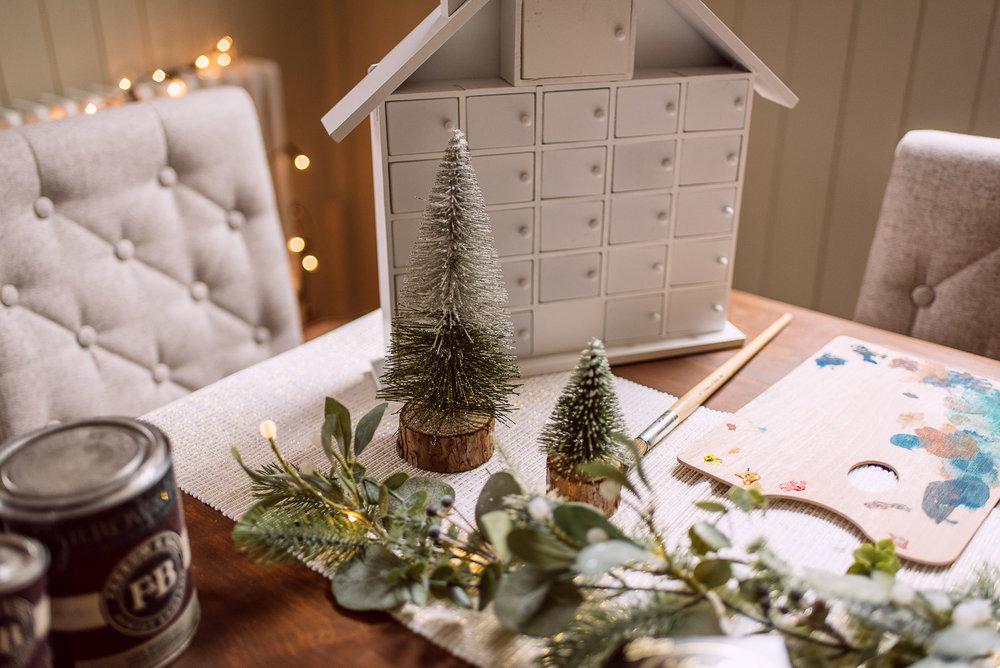 Hobbycraft Christmas Advent Calendar Idea