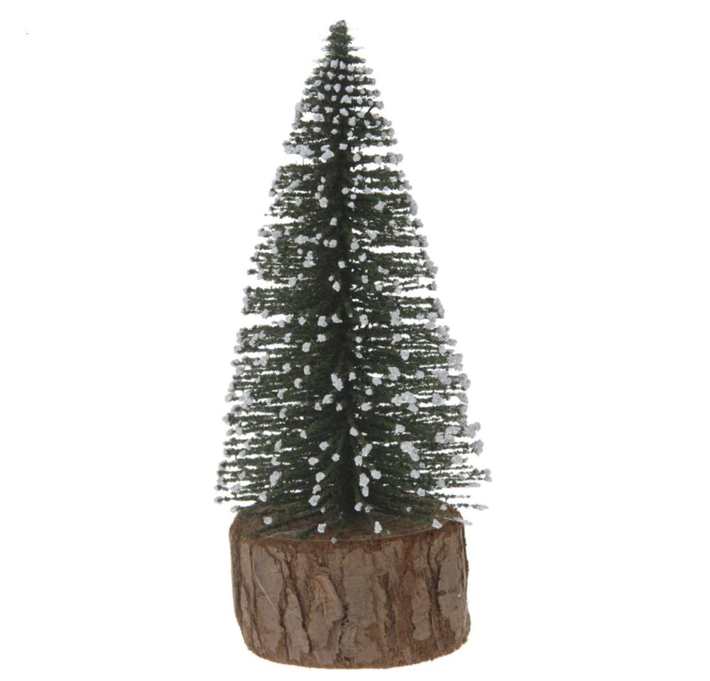Brush christmas tree