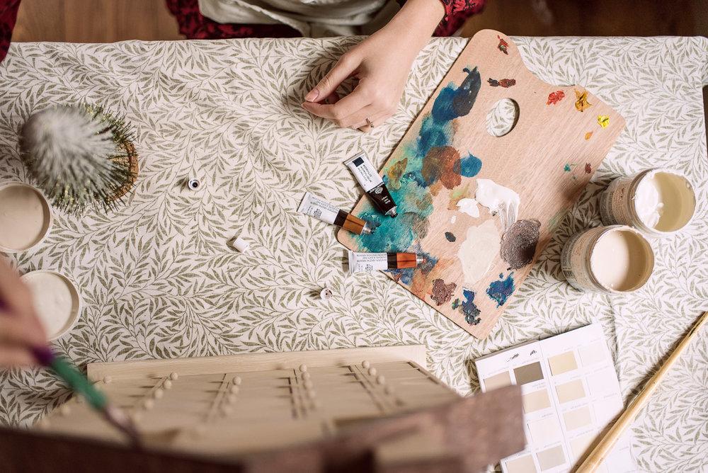 Crafting DIY Interior Blogger Fifi McGee