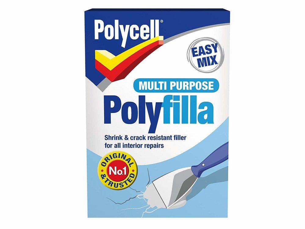 diy polycell polyfilla