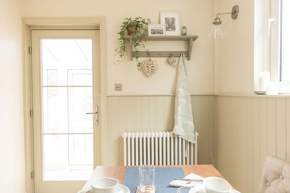 kitchen diner radiator