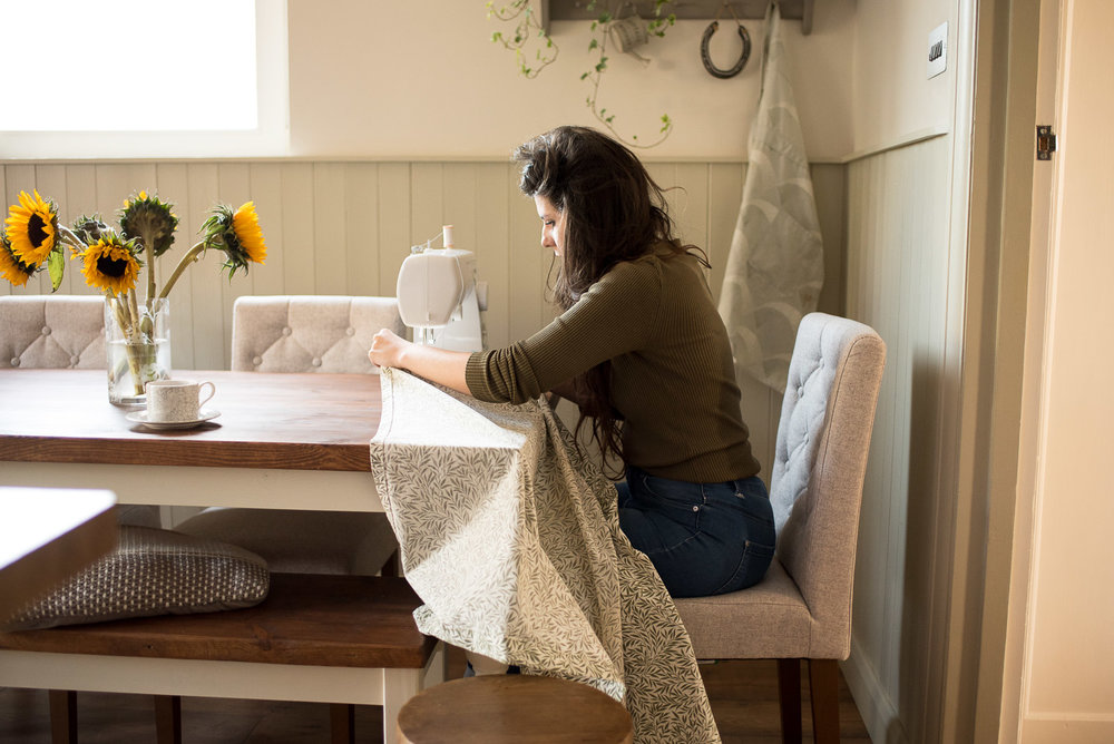 sewing washing machine cover