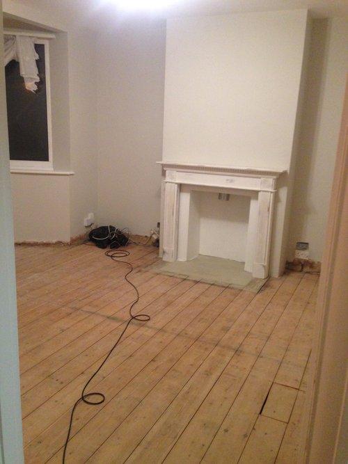 The Living Room - 12 weeks in