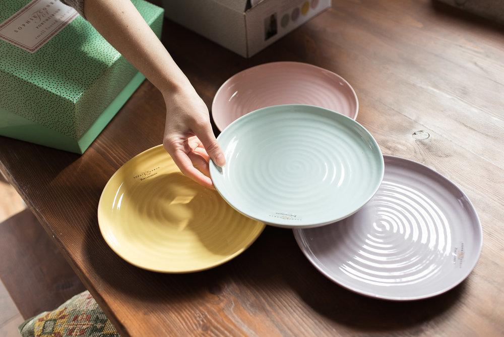 Portmeirion Colour Pop plates