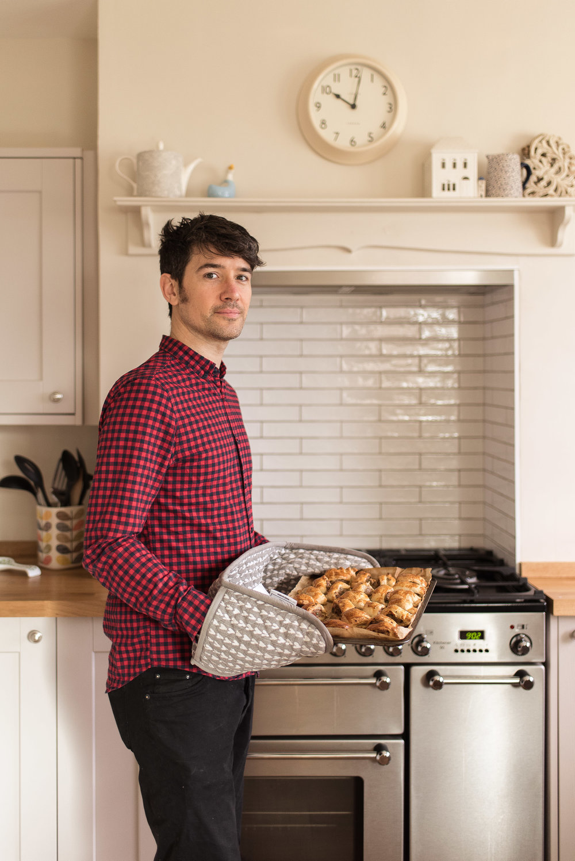 Neil's home made sausage rolls