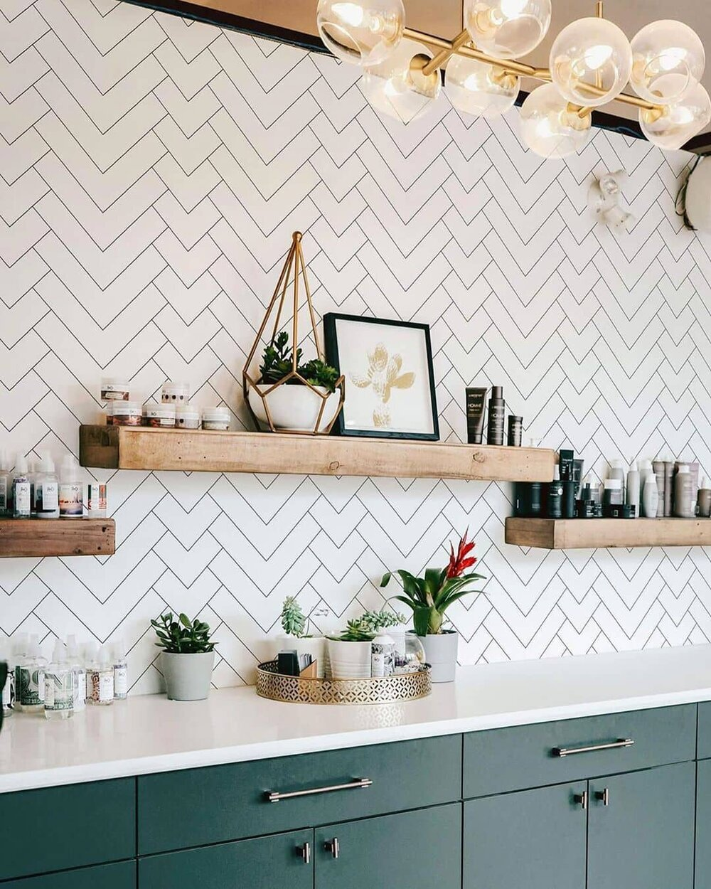 Kitchen wallpaper ideas and where to AVOID wallpapering   Fifi McGee