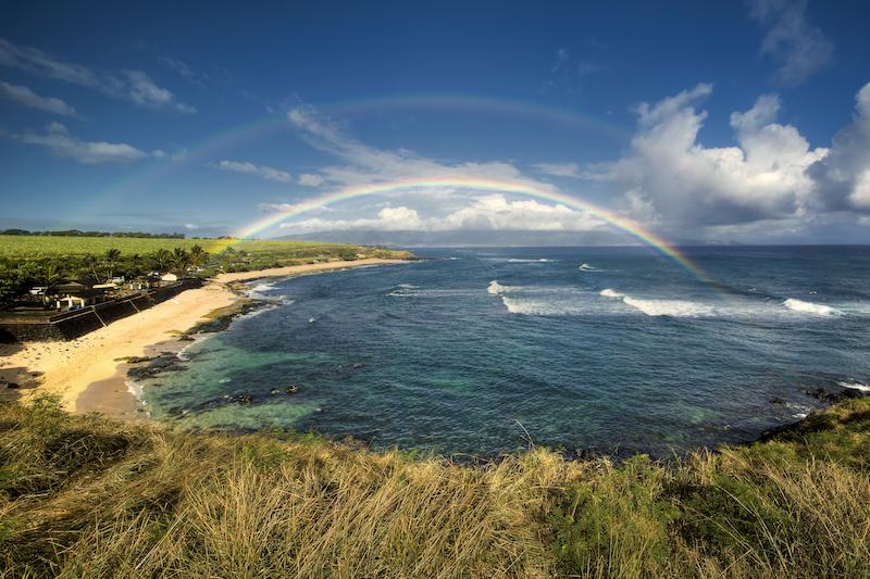 Maui's North Shore: Ho'okipa beach park