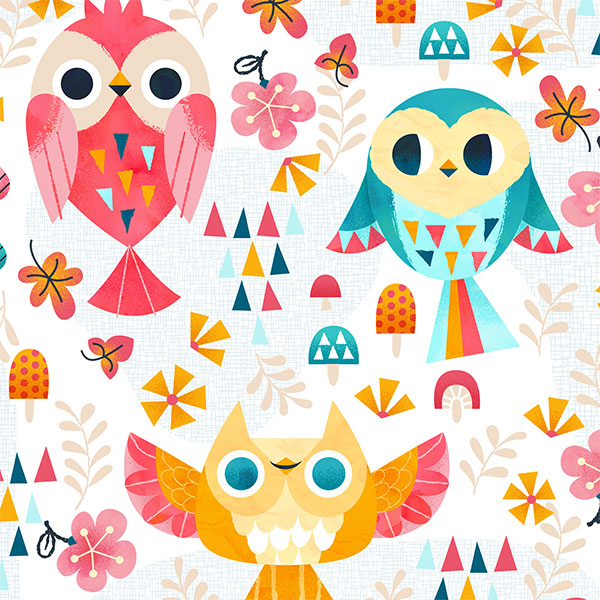 Close up of owls