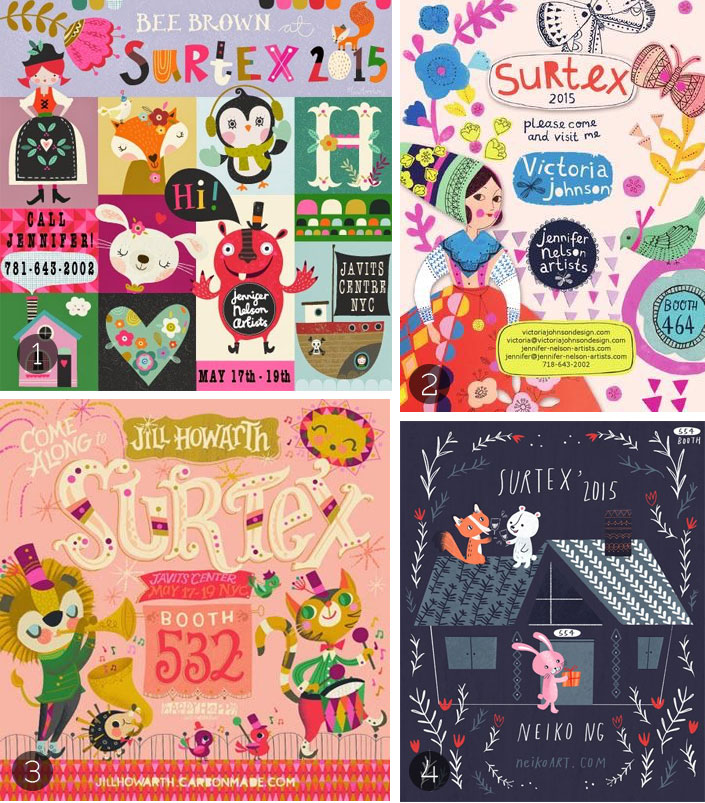 Surtex illustrators 2015