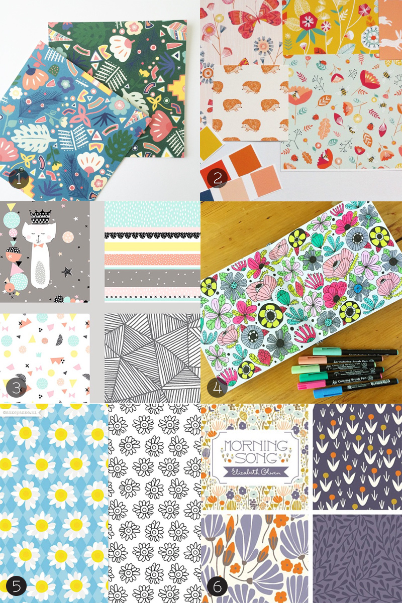 wonderful pattern designers on Instagram