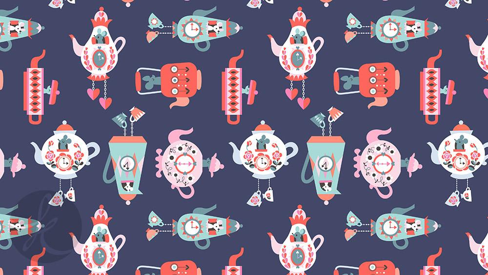 My cute and fun teapot design