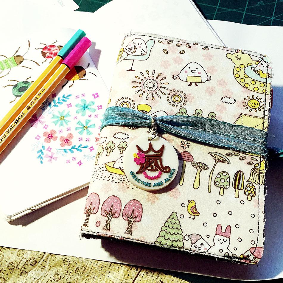 My hand made midori style notebook