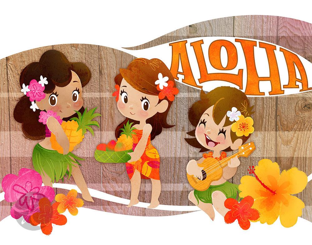 Tropical Girls Trio via katuno.com