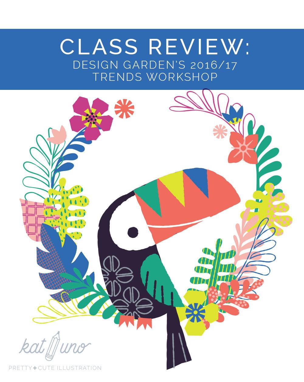 Design Garden Trends Class Review