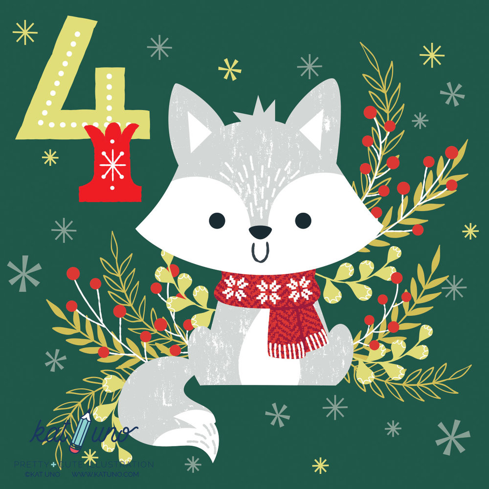 Kat Uno Designs - 2016 holiday advent project