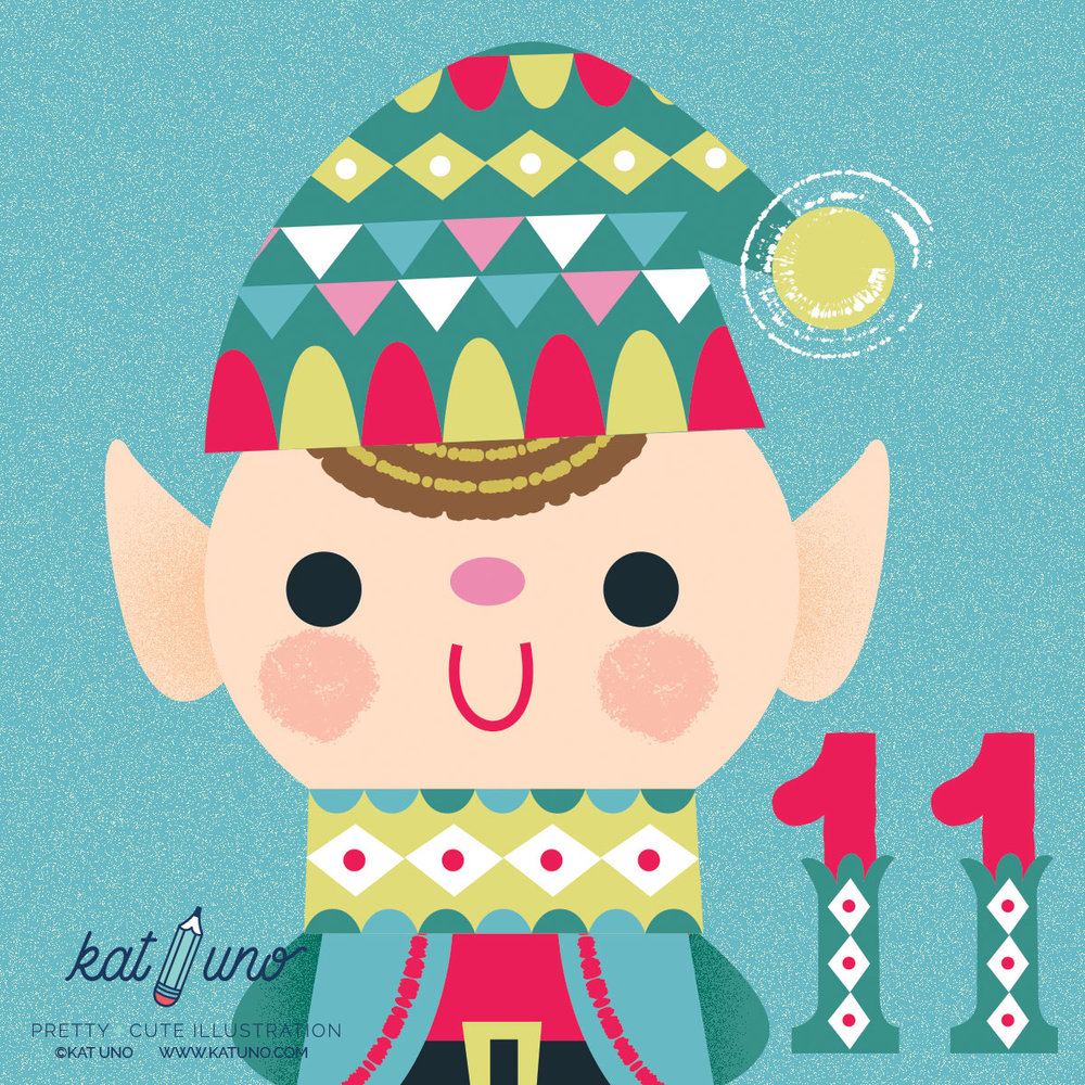 2016 Holiday Advent Project - Kat Uno Designs