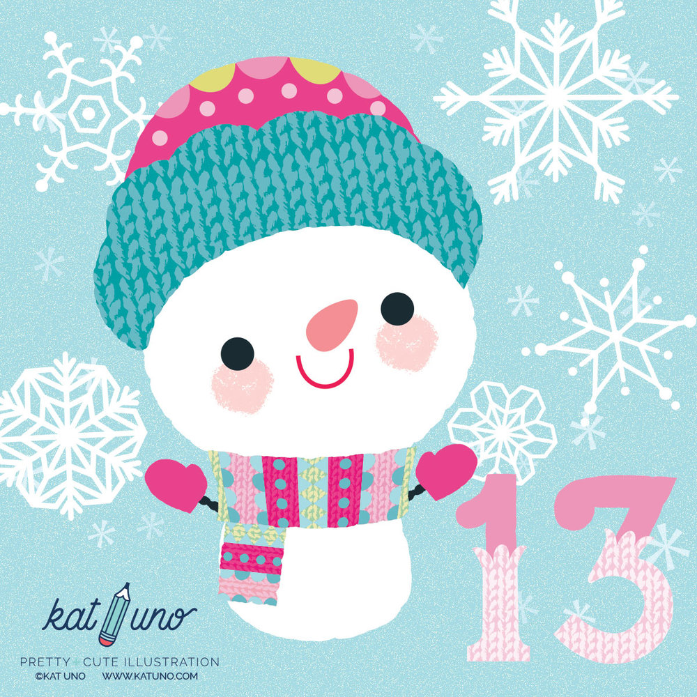 Holiday Advent Project - day 14 Kat Uno Designs