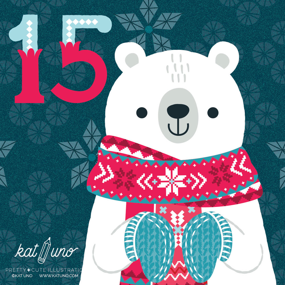 Holiday Advent Project day 15- Kat Uno Designs