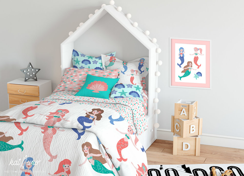 Decorate a lovely kids' room!