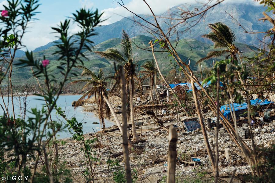 Coastal Damage from Hurricane matthew