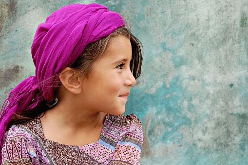 A traveller child