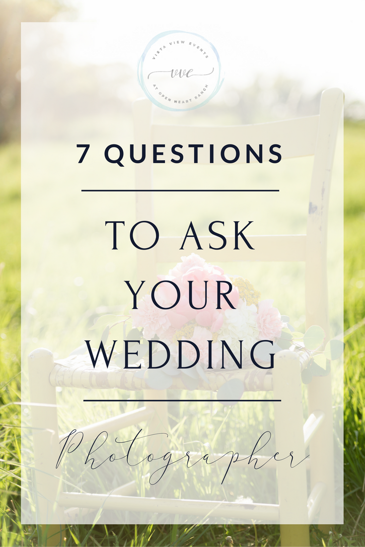 These seven questions will help you pick an awesome wedding photographer in Colorado