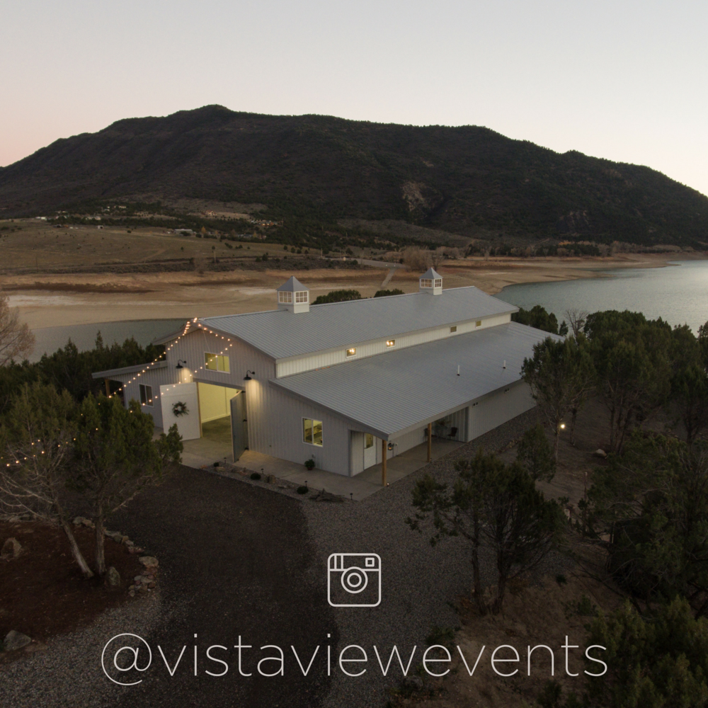 Colorado Wedding Barn | Vista View Events | Instagram