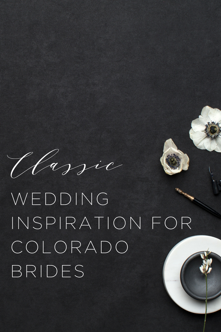 Classic Wedding Ideas in Colorado | Wedding Venues in Western Colorado