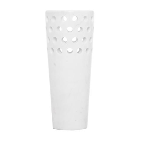 Kelly Wearstler Perforated Marble Vase