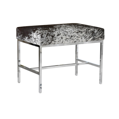 Hide And Chrome Bench