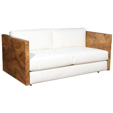 Wood Framed Love Seat
