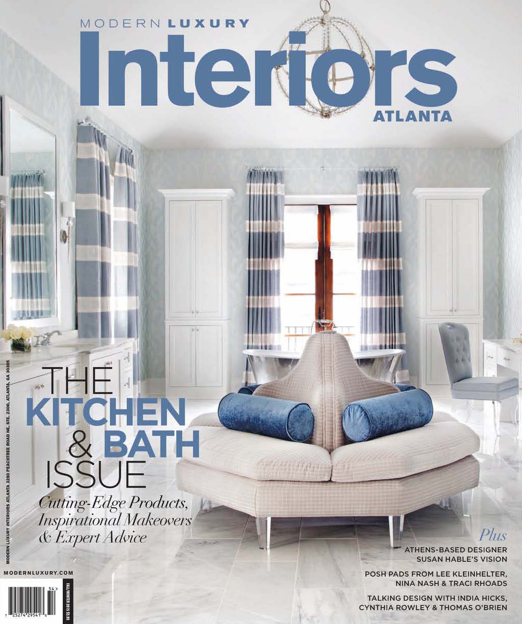 Modern Luxury Interiors Atlanta   October 2015