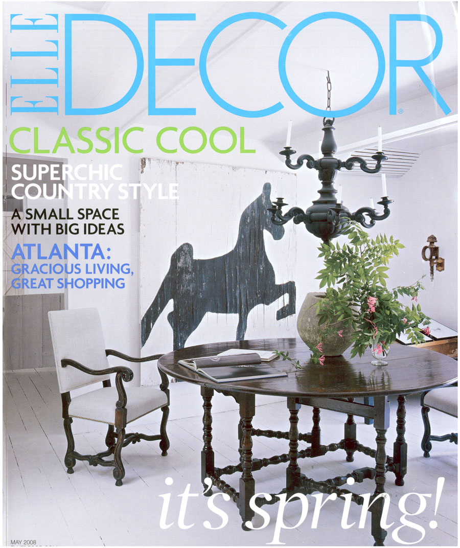 ELLE Décor - May 2008 — Lee Kleinhelter Interior Design