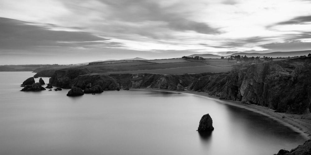 Ballydwane cliff top view
