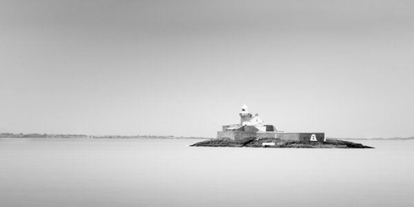 Fenit Lighthouse, Shot at F16, 100sec exposure using 10stop ND filter and 3 stop Grad