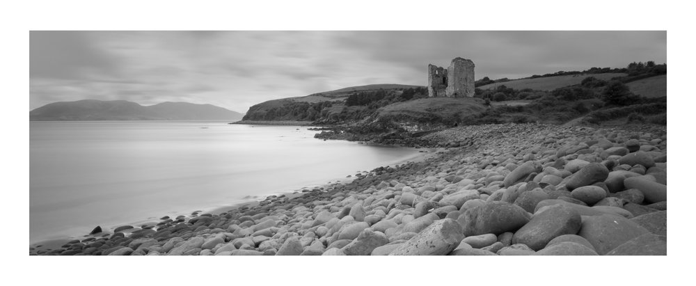 Minard castle near Annascaul , Dingle  5