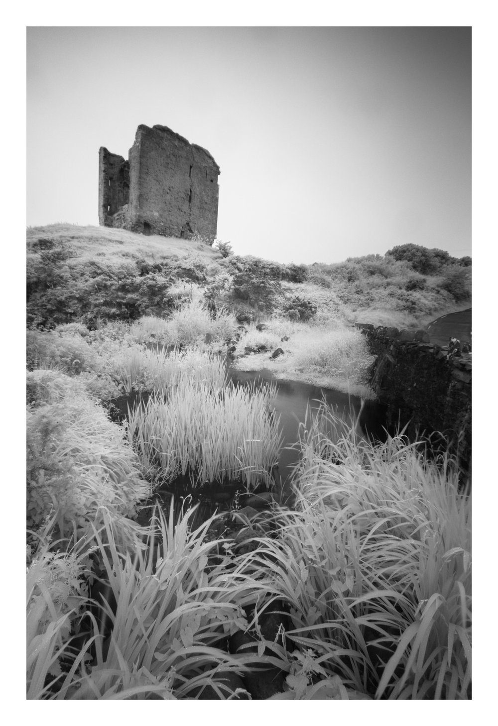 Shot using and infrared filter, really needed a blue sky day to get the effect I wanted.