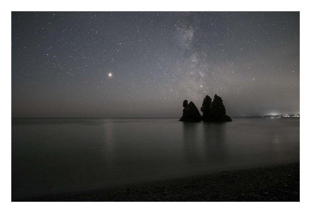 Mars and Milkyway , Copper Coast astro photography