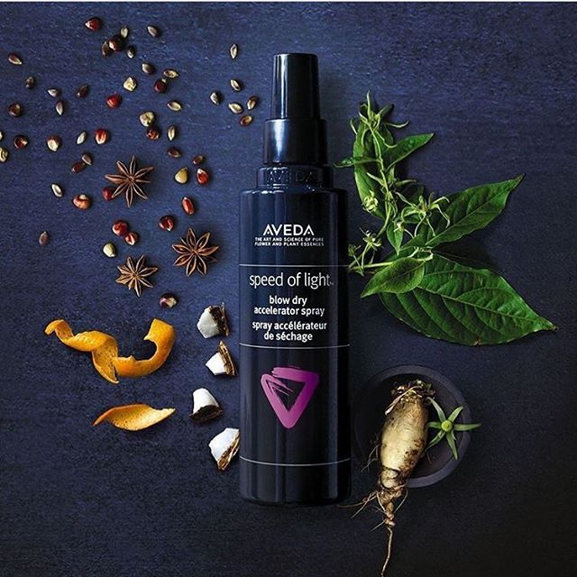 ✨SALON EXCLUSIVE✨ NEW - A better blow dry at the Speed of Light ⚡️ Cuts down blow dry time, reduces breakage by 93% and 90% naturally derived! Our stylists' new go-to . . . . . #aveda #naturallyderived #smellslikeaveda #avedacolor #avedaartist #avedastylist #avedasalon #pasadena #southlakeavenue
