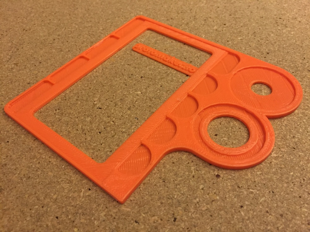 Final beta, made tweaks in the realm of hundredths of an inch after printing this prototype