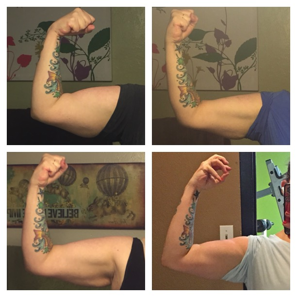 This is 6 months of progress losing weight while gaining muscle.