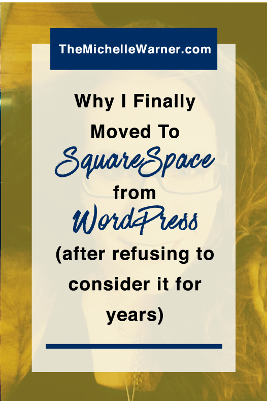 After years of refusing to even consider moving to Squarespace from WordPress I recently made the switch. It took me less than a week (4 days and about 8 hours total) and I haven't looked back since. Click through to find why I made the switch and everything that's gone right since I did.