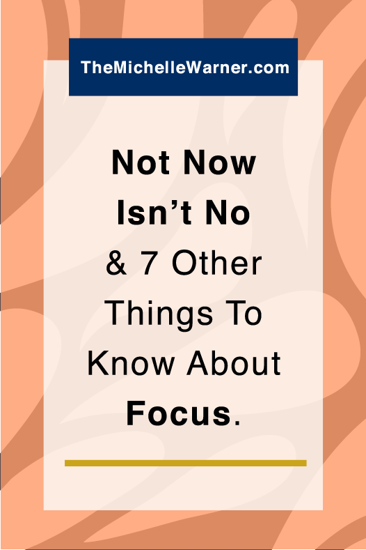 Struggle with focus? Don't we all. Click through to learn the 7 things entrepreneurs need to know about focus.