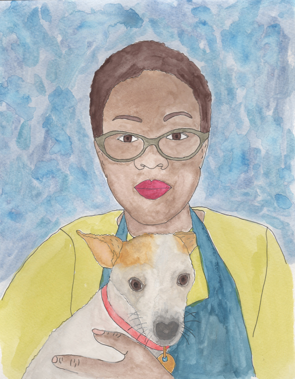 custom portrait illustration jen hewett watercolor nicole stevenson studio.jpg