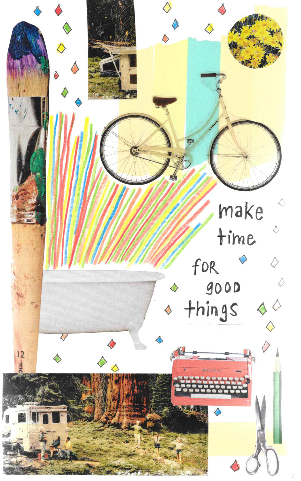 make time mixed media collage nicole stevenson studio.jpg