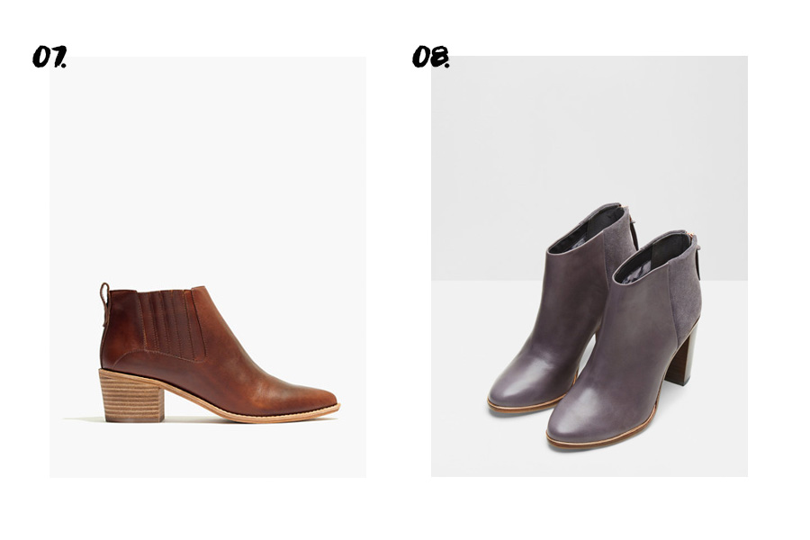 10 Essential Fall Boots