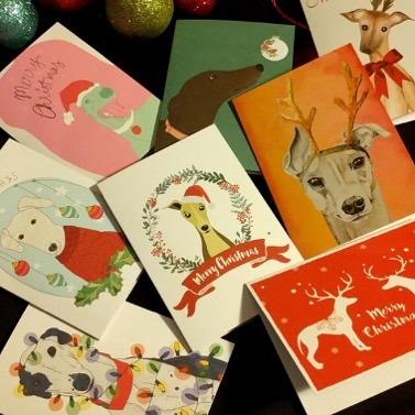 If you love #greyhounds and #christmas #, check out these #greyhoundcards from Greyhound Rescue. Each card features original greyhound art, and proceeds support the rescue of these wonderful hounds. They can be found at http://www.greyhoundrescue.bigcartel.com/product/greyhound-christmas-cards-8-pack