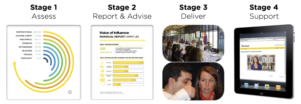 The Voice Advisory Consulting Methodology and Voice Coaching